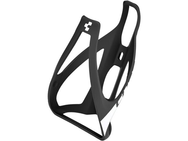 Cube HPP Flaschenhalter matt schwarz/weiß